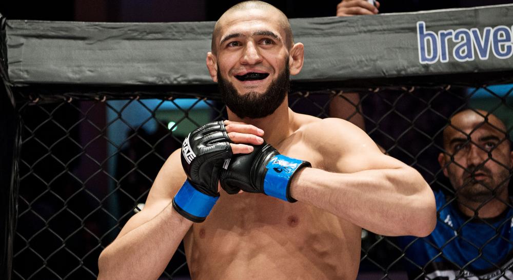 Khamzat Chimaev UFC MMA Frontkick Online