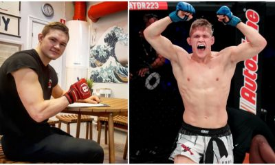 Oliver Enkamp kontrakt UFC MMA Bellator MMA Kontrakt