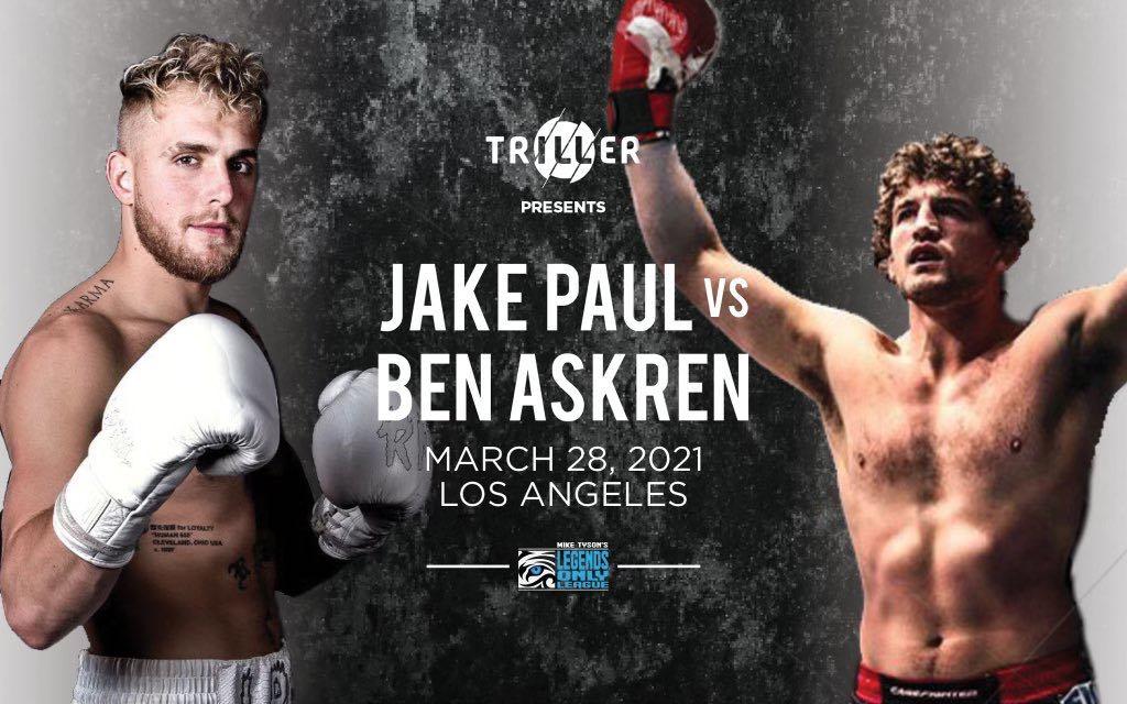Jake Paul Ben Askren UFC MMA Frontkick Online Boxning