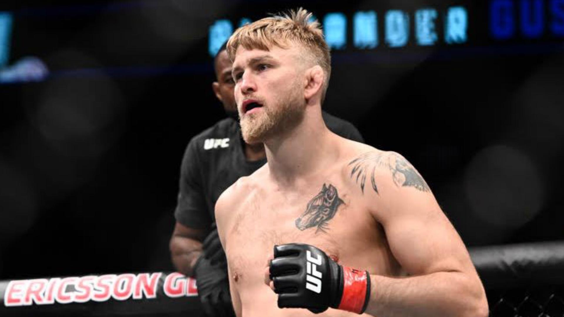 Alexander Gustafsson The Mauler UFC MMA Frontkick Online