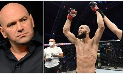Dana White Khamzat Chimaev UFC MMA Frontkick Online