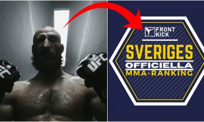 Guram Kutateladze Sveriges officiella MMA-ranking Frontkick.online