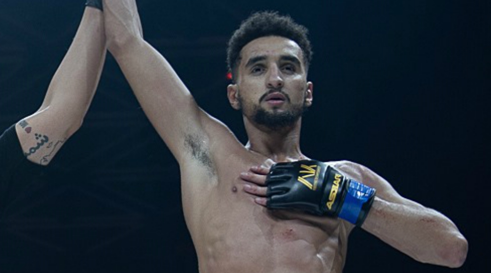 Hamza Bougamza UAE Warriors MMA Frontkick Online