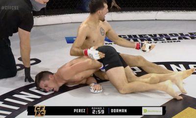 Jose Perez CFFC 91 MMA Frontkick.online