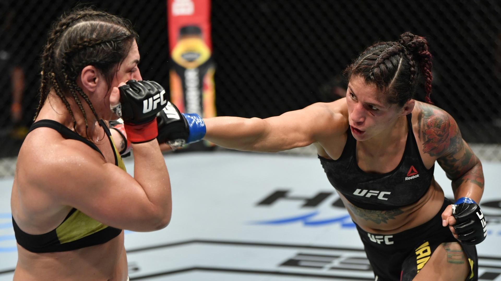 Pannie Kianzad Bethe Correia UFC MMA Frontkick Online Bethe Correia