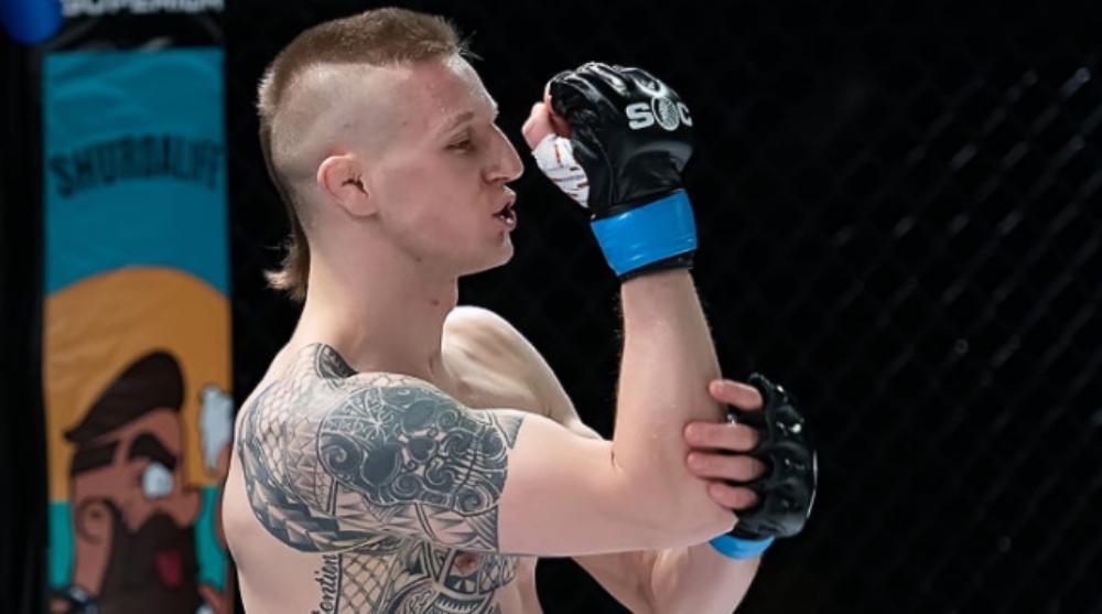 Tobias Harila UFC MMA Frontkick Online Cage Warriors