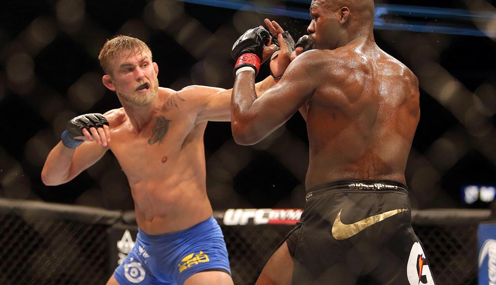 Alexander Gustafsson The Mauler UFC MMA Frontkick Online Jon Jones 1