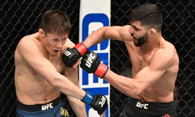 Amir Albazi UFC MMA Frontkick Online UFC 257 Poirier McGregor 2 11