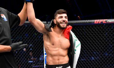 Amir Albazi UFC MMA Frontkick Online UFC 257 Poirier McGregor 2