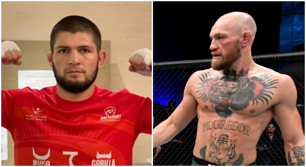 Conor McGregor Khabib Nurmagomedov UFC 257 Frontkick Online resultat