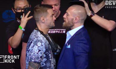 Dustin Poirier Conor McGregor UFC 257 Frontkick.online