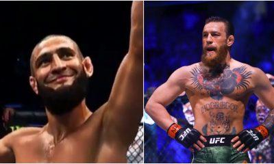 Khamzat Chimaev Conor McGregor hån UFC 257 Frontkick Online