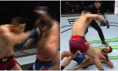 Li Jingliang Santiago Ponzinibbio UFC MMA Frontkick Online UFC Viaplay