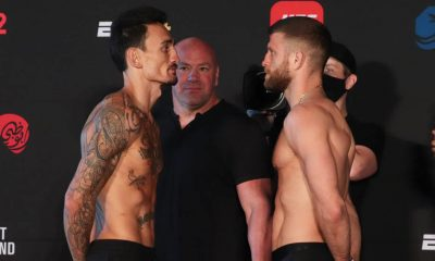Max Holloway Calvin Kattar UFC on ABC Frontkick.online
