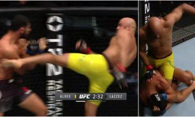 Mounir Lazzez UFC Frontkick Online Warlley Alves