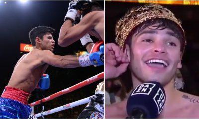 Ryan Garcia boxning knockout Frontkick Online