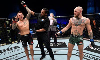 UFC 257 Dustin Poirier Conor McGregor Frontkick.online