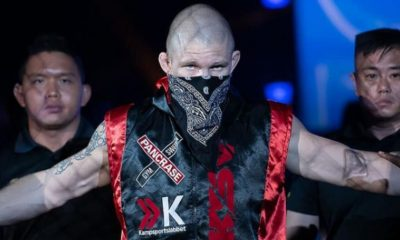 Zebaztian Kadestam ONE Championship Frontkick Online MMA
