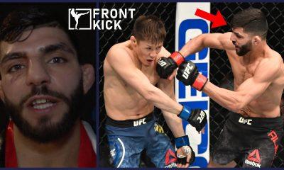 Amir Albazi UFC 257 MMA Sverige