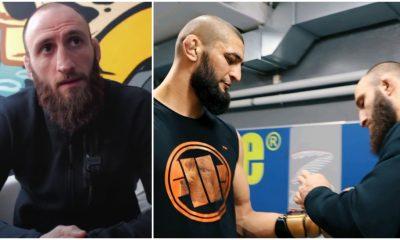 Guram Kutateladze UFC MMA Khamzat Chimaev Frontkick Online skada