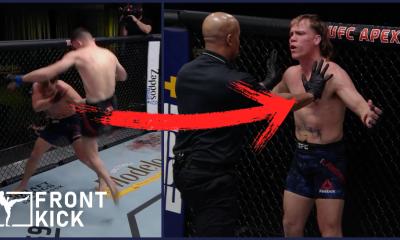 UFC Julian Erosa Nate Landwehr Frontkick.online