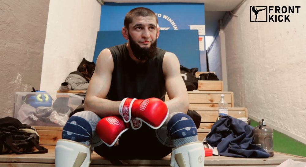 Khamzat Chimaev Frontkick.online