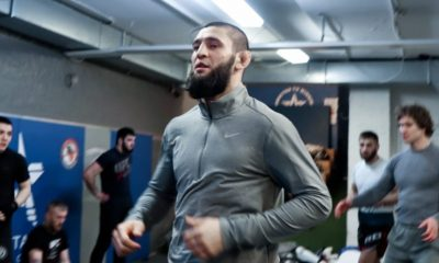 Khamzat Chimaev UFC LeoN Edwards exklusivt Frontkick Online Majdi Shammas