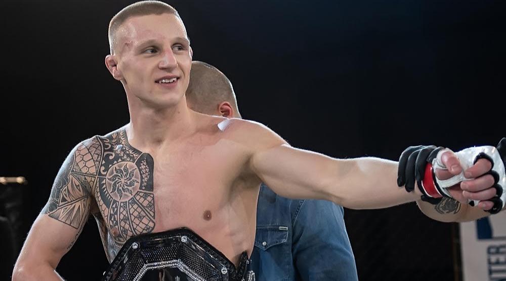 Tobias Harila MMA Frontkick Online Cage Warriors debut