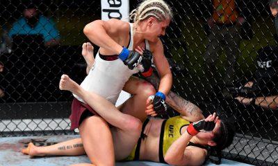 Yana Kunitskaya UFC MMA Frontkick Online
