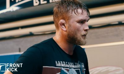 Alexander Gustafsson The Mauler Frontkick.online