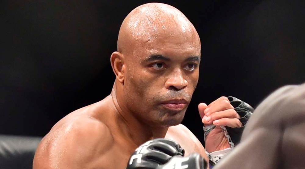 Anderson Silva UFC MMA Frontkick Online 1