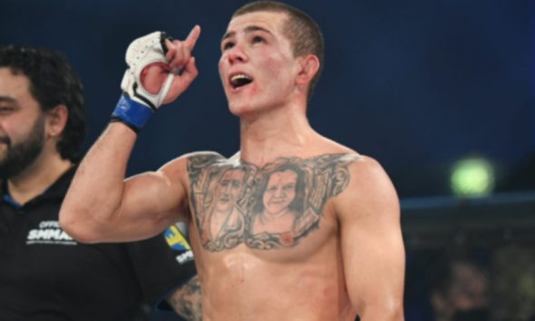 Felipe Lima Fernando Flores 1 MMA Frontkick Fight Club Rush 8