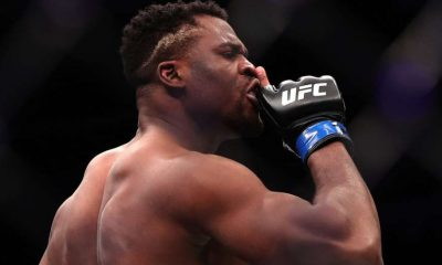 Francis Ngannou Stipe Miocic 2 UFC 260 MMA Frontkick Online