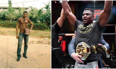 Francis Ngannou uttalande UFC MMA Frontkick Online