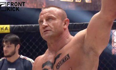 Mariusz Pudzianowski KSW 59 MMA Frontkick.online