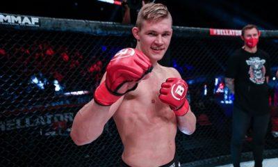 Oliver Enkamp Bellator MMA Frontkick Online Svensk MMA