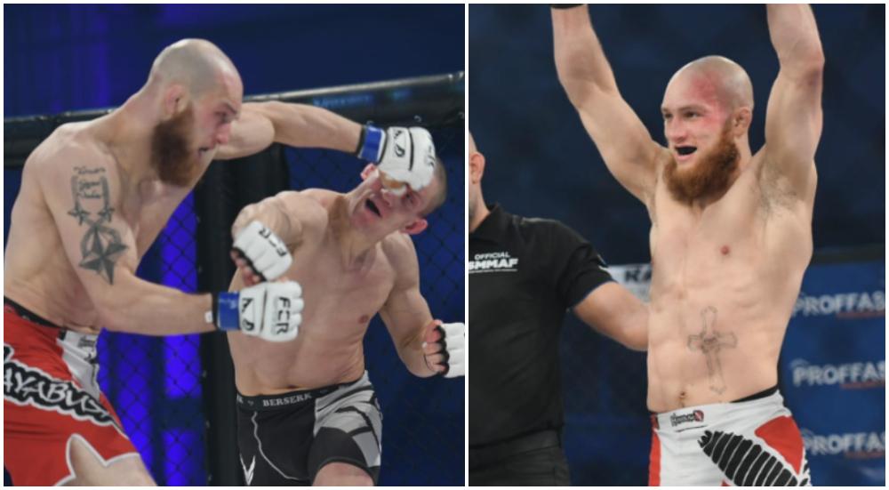Rahmads Stromanis Geir Kåre Nyland MMA Frontkick Fight Club Rush 8