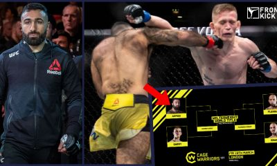 Rostem Akman Cage Warriors MMA UFC Frontkick.online