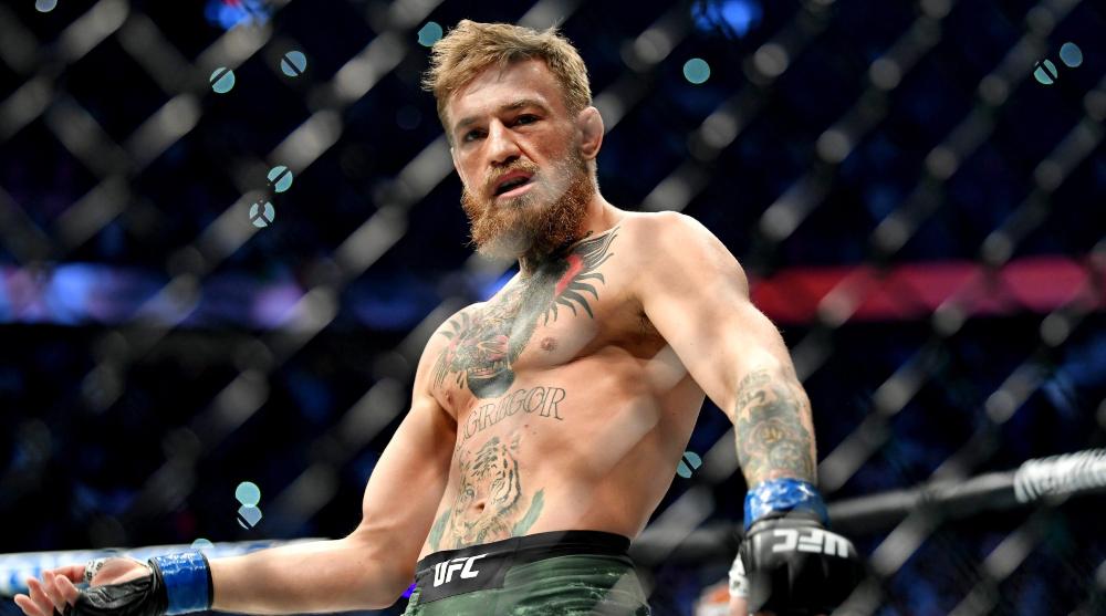 Conor McGregor Dustin Poirier donation UFC MMA Frontkick Online