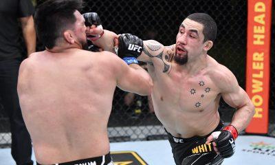 Robert Whittaker Kelvin Gastelum Frontkick Online UFC MMA