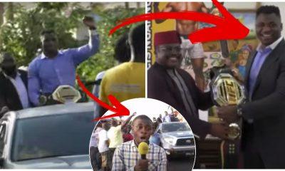Francis Ngannou Kamerun Frontkick.online