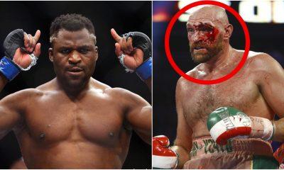 Francis Ngannou Tyson Fury Otto Wallin UFC MMA Frontkick Online