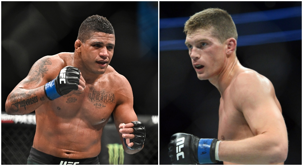 Gilbert Burns Stephen Thompson MMA Frontkick.online