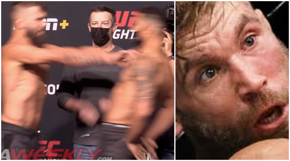 Jeremy Stephens Drakkar Klose knuff UFC MMA Frontkick Online