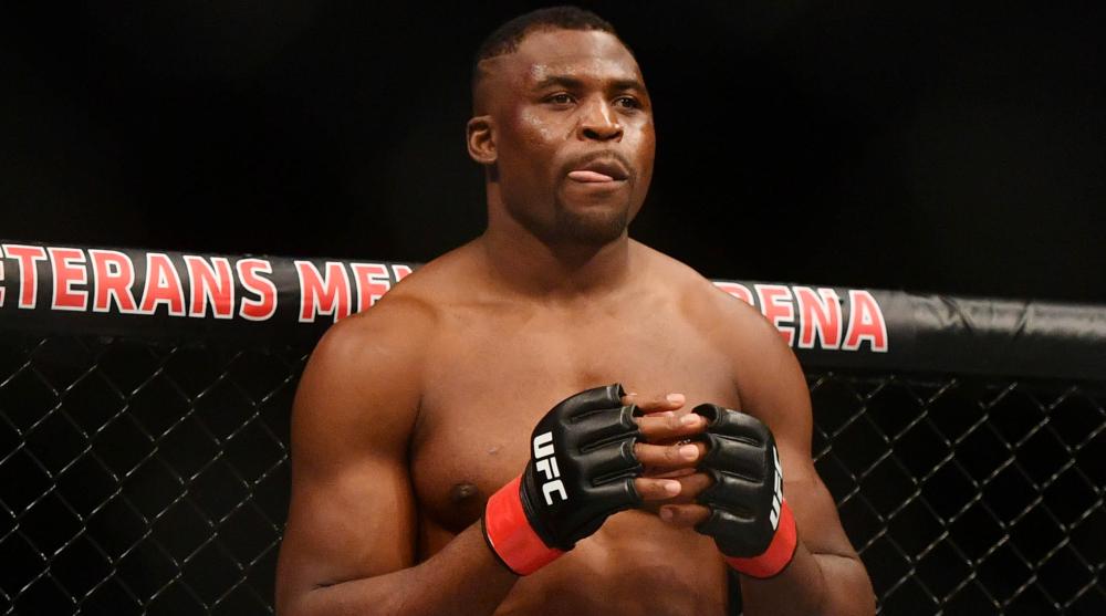 Jon Jones Derrick Lewis Francis Ngannou UFC MMA Frontkick Online