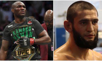Kamaru Usman Khamzat Chimaev UFC MMA Frontkick Online