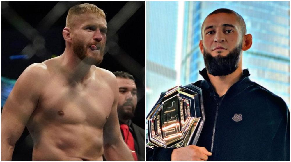 Khamzat Chimaev Jan Blachowicz UFC MMA Frontkick Online