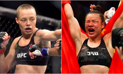 Rose Namajunas Weili Zhang UFC MMA Frontkick Online