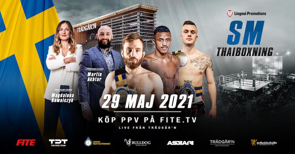 SM i thaiboxning 2021 Frontkick.online