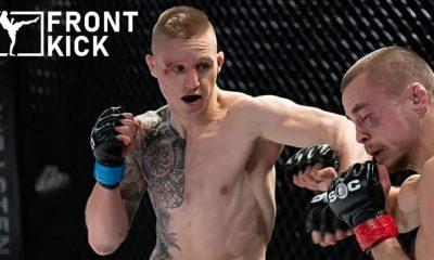 Tobias Harila Paul Hughes Cage Warriors MMA Frontkick Online